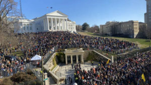 Thousands Peacefully Protest For Gun Rights In Virginia