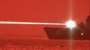 San Diego-Based Amphibious Ship Shoots Down Drone In Laser Weapon Test