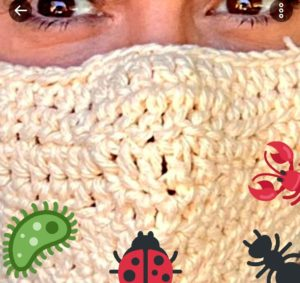 Alyssa Milano Wears Crocheted Face Mask While Virtue Signaling – Instantly Memed