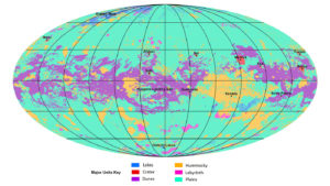 The First Global Geologic Map Of Titan Completed