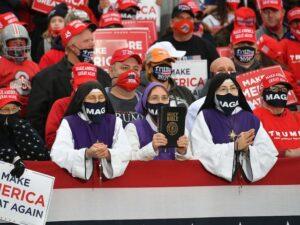 MAGA Nuns Show Up At Rally