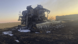 Nebraska Farmer Who Displayed Trump Flags Finds His Heavy Equipment Burned – Under Investigation