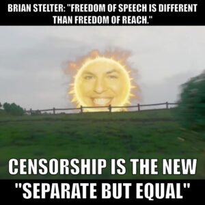 """Brian Stelter: """"Freedom of speech is different than freedom of reach."""""""